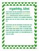 Common Core: Writing Standard: Organizing Ideas: Opinion
