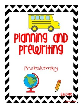 Common Core: Writing Standard: Planning