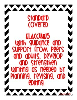 Common Core: Writing Standard: Proofreading and Editing