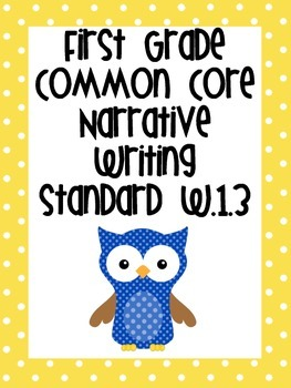 Common Core Writing Standards Bundle for First Grade