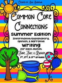 Common Core Writing ~ Summer