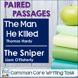 Common Core Writing Task: The Man He Killed & The Sniper