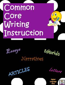 Common Core Writing Tips for State Assessments