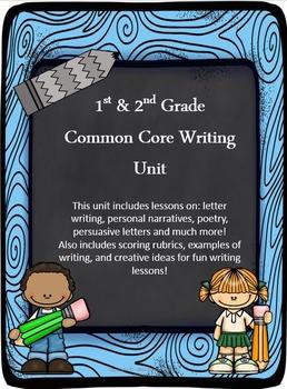 Common Core Writing Unit