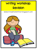 First Grade Revision Writing
