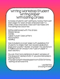 Common Core Writing Workshop Writing Paper with Editing Circles