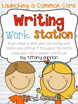 Common Core Writing Workstation Complete Packet {Third Grade}