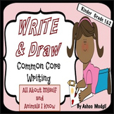 Write and Draw Opinion Writing Prompts {Differentiated and Common Core Aligned}