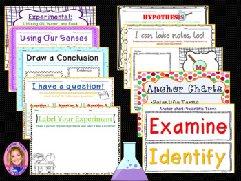 NEW Common Core Writing: Writing Like a Scientist Unit (with experiments!)
