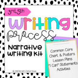 Common Core Writing for 3rd, 4th, & 5th Grade! Writing Process Narrative Kit