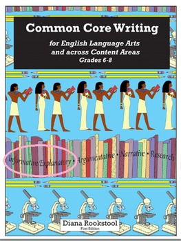 Common Core Writing for 6th, 7th, & 8th Grades - Informative/Explanatory Essays