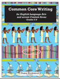 Common Core Writing for 6th, 7th, and 8th Grades for Argum