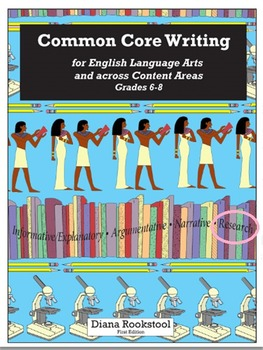 Common Core Writing for 6th, 7th, and 8th Grades for Research Essays