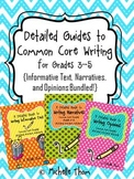 Common Core Writing for Grades 3-5 {Narratives, Informativ