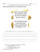March 6th - Common Core Close Read & Comprehension Passage