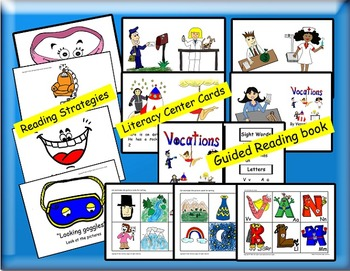 Guided Reading, Guided Reading Strategies, Guided Reading Book Alpha 8 Vocations