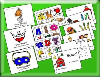 RTI, RTI Early Intervention, RTI Guided Reading Alpha 1 Book