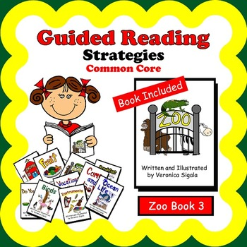 Guided Reading, Guided Reading Strategies, Guided Reading Book Alpha 3 Zoo
