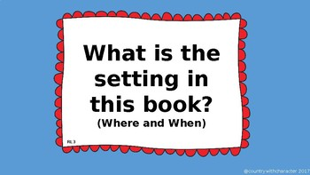 Common Core aligned Reading Center Questions