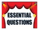 Common Core and Essential Question Hollywood theme