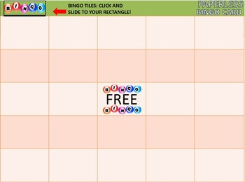MAP TEST READING VOCABULARY GAME - Real Bingo (RIT BANDS 191-200)