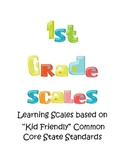 Common Core based Reading Foundational Scales