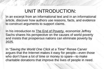 Common Core code X Unit 7 powerpoint