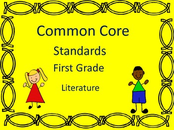 Common Core - first grade- Literature, Informational text-
