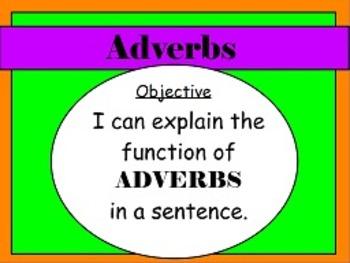 Adverbs L.1a FLIPCHARTS!!