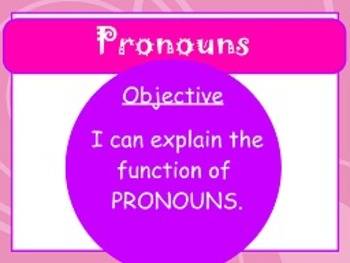 Prounouns L.1a FLIPCHARTS and worksheets!
