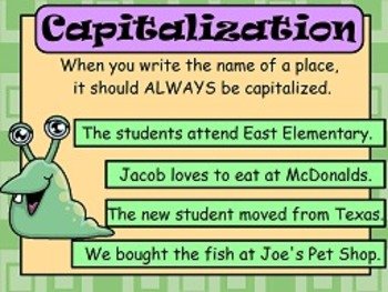 Capitalize Words in Titles L.2a FLIPCHARTS and worksheets!