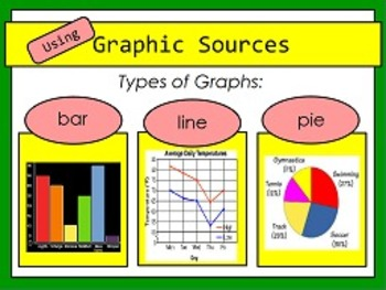 Using Graphic Resources RI.7 FLIPCHARTS  and worksheets!