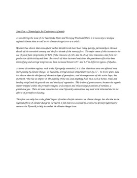 Common Core-friendly Critical Thinking Environmental Awareness assignment