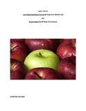 Common Core lesson plans for Johnny Appleseed and Amazing Apples