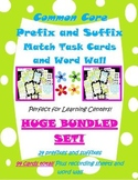 affixes: prefixes and suffixes match cards and word wall BUNDLED!
