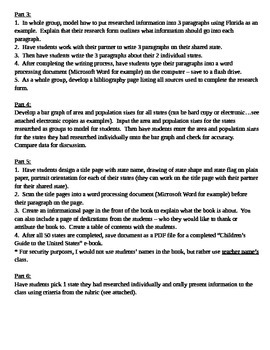 Common Core research project - Children's Guide to the United States