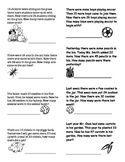 Common Core type MATH Word Problems Grade 2