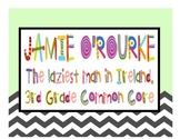 Common Core with Jamie O'Rourke! {3rd Grade Reading Litera