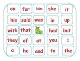 Common Core:K & 1st Grade Sight Word Bingo