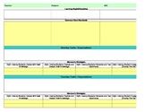Common Core/Marzano Interactive Lesson Plan Template-Fifth Grade Math
