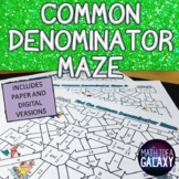 Common Denominator Activity