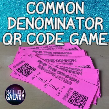 Common Denominator Game