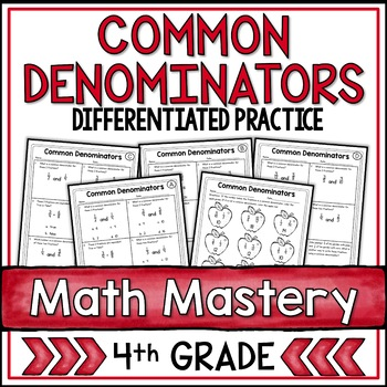Common Denominators (4th Grade Common Core Math: 4.NF.1)