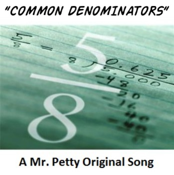 """""""Common Denominators"""" - An Adding and Subtracting Fractions Song!"""