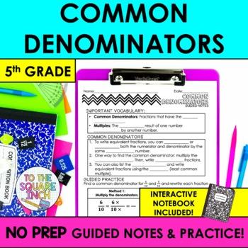 Common Denominators Notes