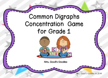 Common Diagraphs Concentration Game
