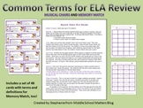 Common ELA Vocabulary Review Game Pack