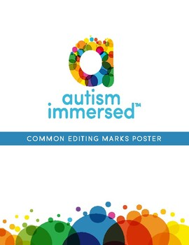 Common Editing Marks Poster