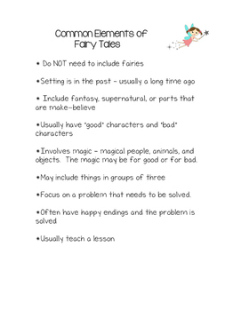 Common Elements of Fairy Tales