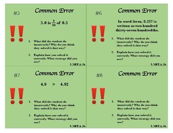Common Error - Decimals